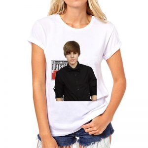 Justin Bieber -T-Shirt (mod2t)