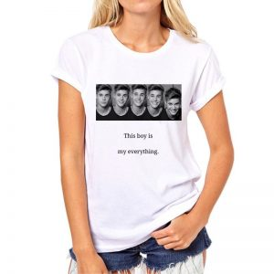 Justin Bieber -T-Shirt (mod5t)