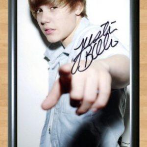 Justin Bieber – Autographed Photo -mod6