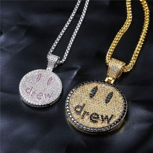 Justin Bieber Drew Necklace