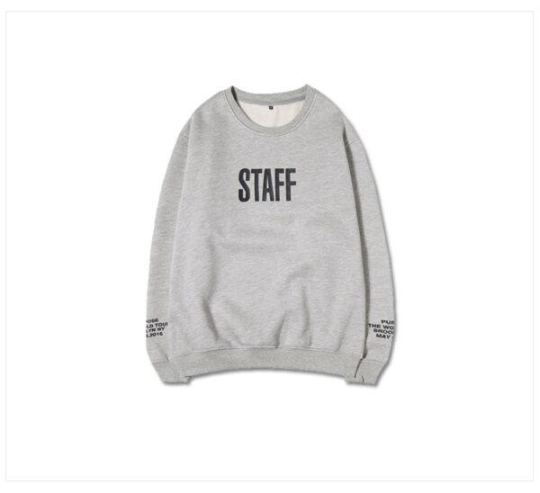 Justin Bieber Staff Sweatshirt