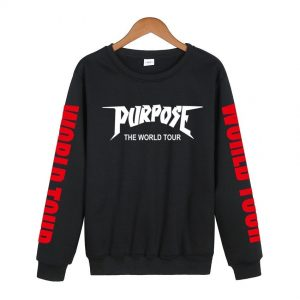 justin bieber purpose tour sweatshirt
