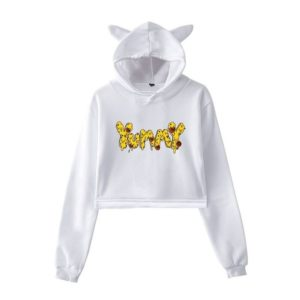 Justin Bieber Yummy Cropped Hoodie #1