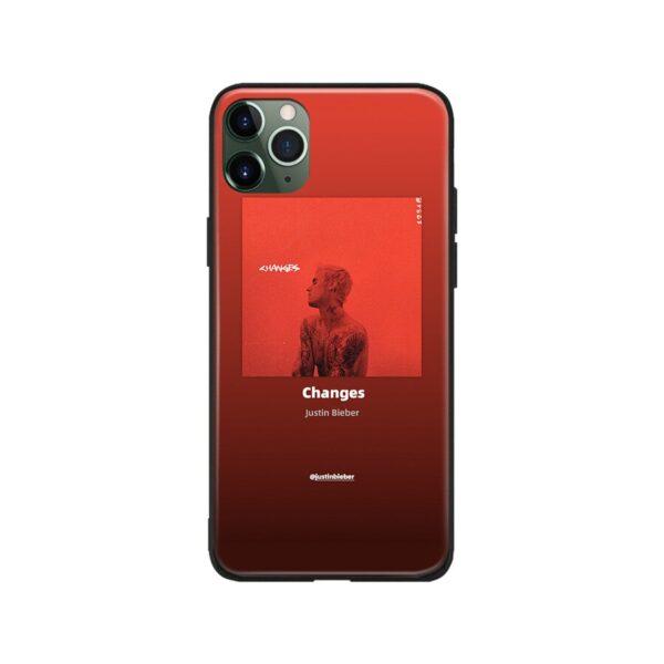 justin bieber changes iphone
