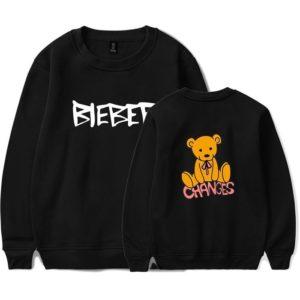 Justin Bieber Changes Sweatshirt #1