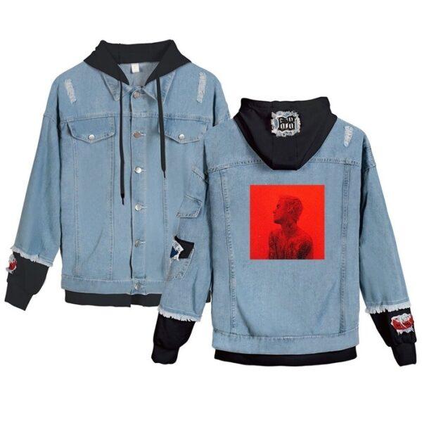 justin bieber changes jacket