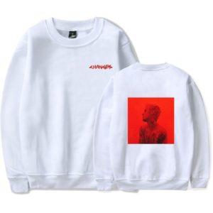 Justin Bieber Changes Sweatshirt #2