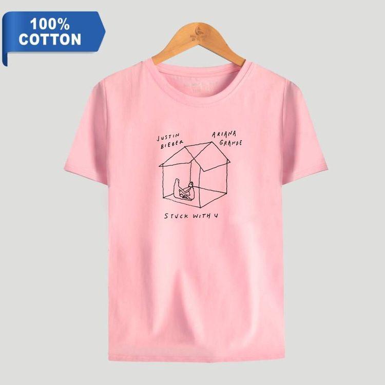 stuck with u t-shirt