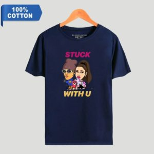 "Justin Bieber ""Stuck with U"" T-Shirt #4"