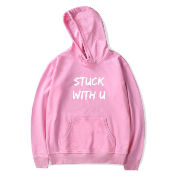 stuck with u hoodie bieber