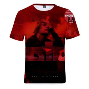 Justin Bieber 3D Justice T-Shirt #1