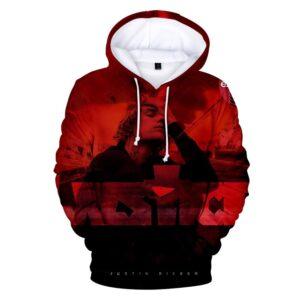 Justin Bieber 3D Justice Hoodie #1