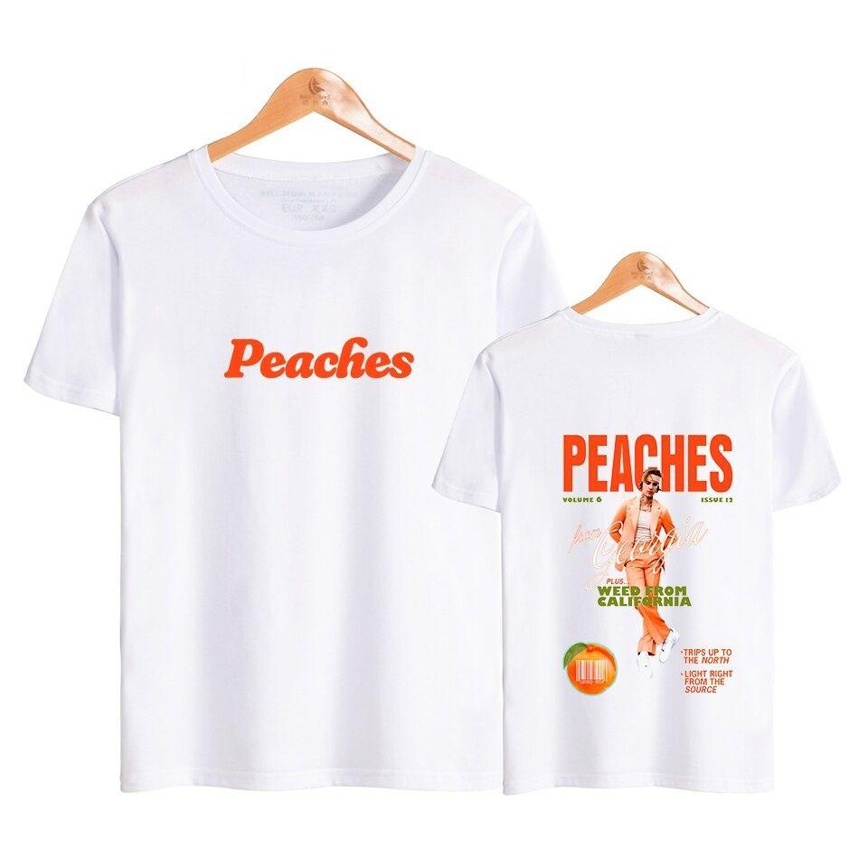 justin bieber peaches merch