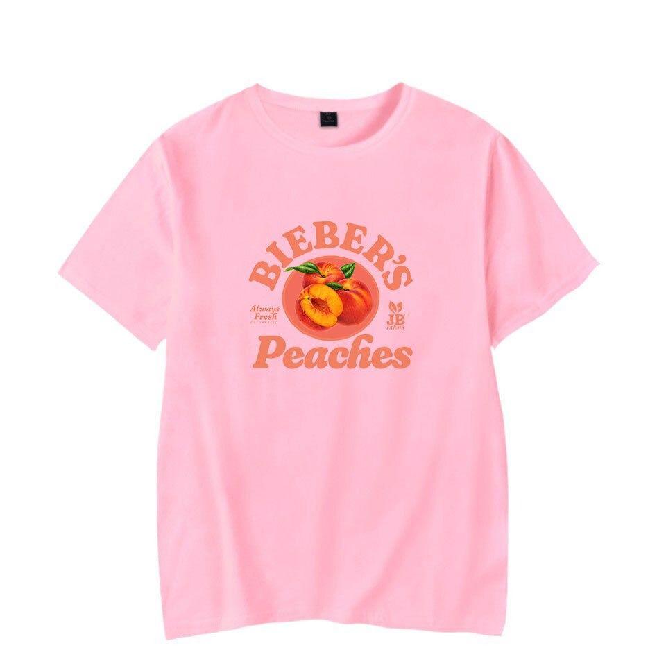 justin bieber peaches t-shirt