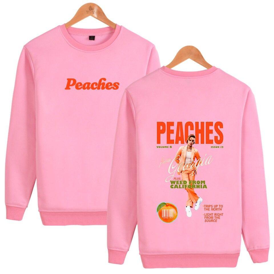 justin bieber peaches sweatshirt